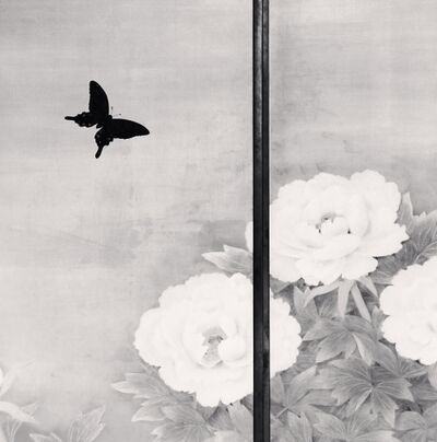 Michael Kenna, 'Butterfly and Peonies', 2006