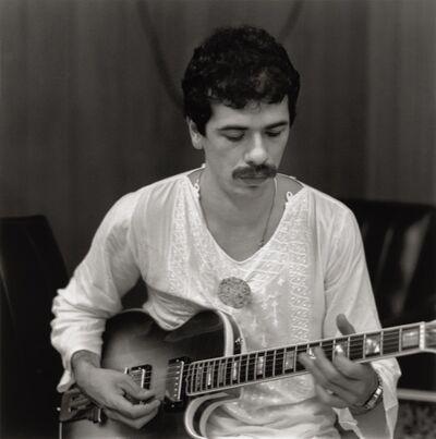 Mario Algaze, 'Carlos Santana Miami, Florida', 1976