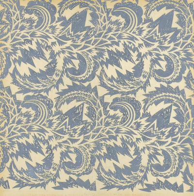 "Otto Prutscher, 'Wallpaper Design ""Odessa""', 1909-1910"
