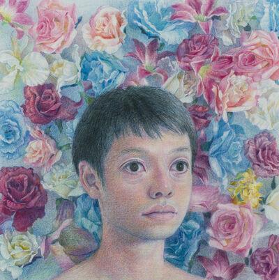 Korehiko Hino, 'Flowers Behind', 2016