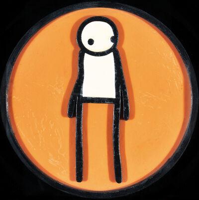 Stik, 'Plaque (Orange)', 2011