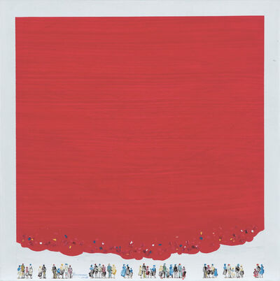 Chamoun Chaouki, 'Red and love', 2017