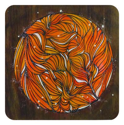 "PAU Quintanajornet, '""AYNI-orange""', 2016"