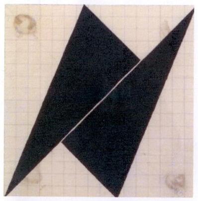 Hercules Barsotti, 'Composição com 2 triângulos'
