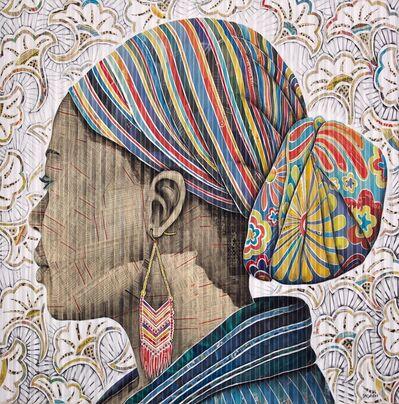 Gary Stephens, 'IZIANE - THE BEADED EARRING', 2020