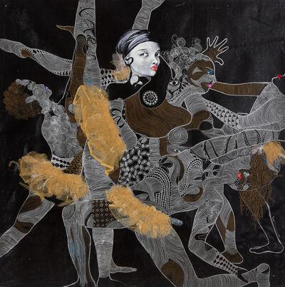 Ndidi Emefiele, 'Feet & feathers', 2013