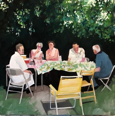 Ruth Shively, 'Summer Supper', 2020