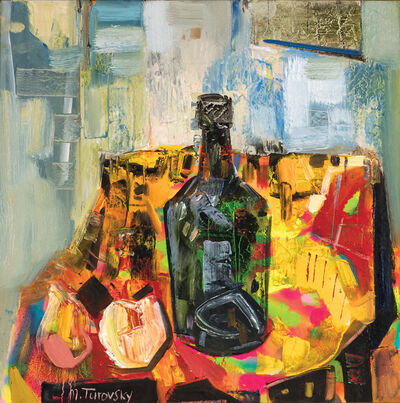 Mikhail Turovsky, 'Still Life with Bottle', ca. 2015