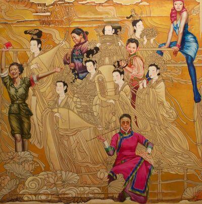 Hu Ming, 'Goldentime', 2013