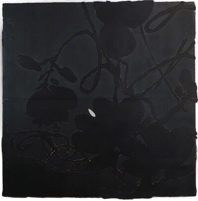 Donald Sultan, 'Black Flowers, May 12, 2013', 2013