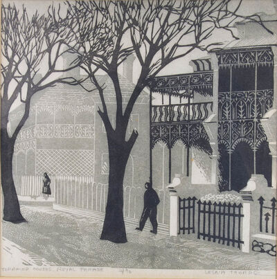 Lesbia Thorpe, 'Terraced Houses Royal Parade', 1956