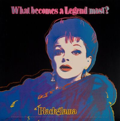 Andy Warhol, 'Blackglama (Judy Garland), from Ads', 1985