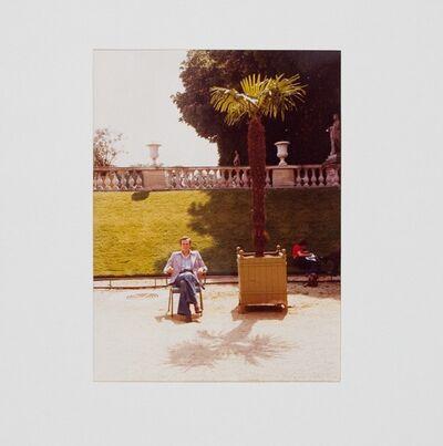 David Hockney, 'Jean in the Luxembourg Garden', 1974