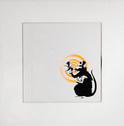 Banksy, 'Radar Rat Vinyl', 2008