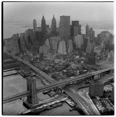 Danny Lyon, 'Aerial View of Manhattan (variant)', 1966