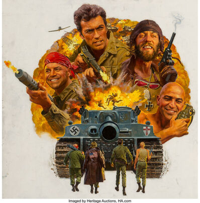 American Artist, 'Kelly's Heroes, movie poster', 1970