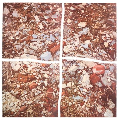 Robert Smithson, 'Torn Photograph from the 2nd Stop (Rubble) (2nd Mountain of Six Stops on a Section)', 1970