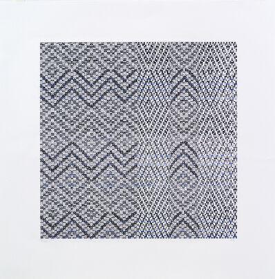 Beryl Korot, 'Weaver's Notation - Variation 2', 2012