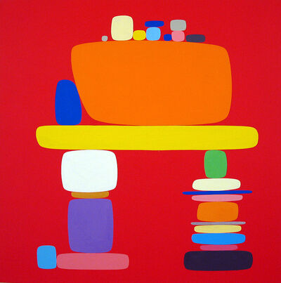Soonae Tark, 'Blue', 2004
