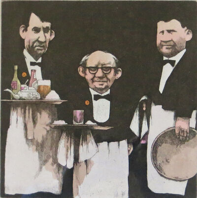 Charles Bragg, 'Manny, Moe and Jacques', 1984