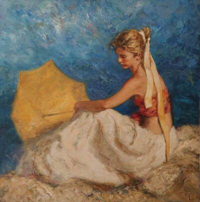 Jose Royo, 'Sombrilla Amarilla', 2020