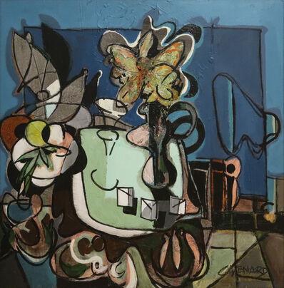 Claude Venard, 'Composition aux fleurs', 1970-1980