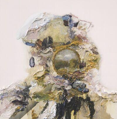 David Kim Whittaker, 'Quai Branly Head IV (Vintage Girl)', 2018