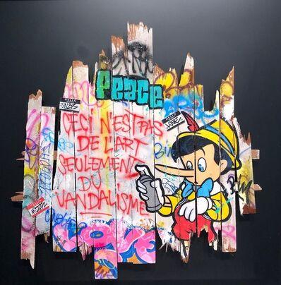 Onemizer, 'Seulement du Vandalisme', 2019
