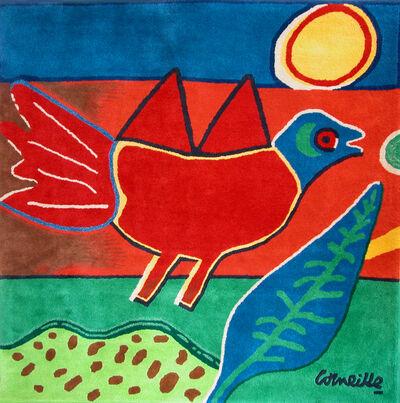 """Corneille, 'limited edition carpet """"Oiseau Rouge""""', 2009"""