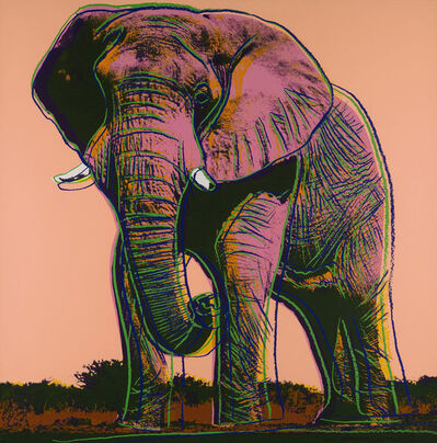 Andy Warhol, 'African Elephant (FS II.293)', 1983