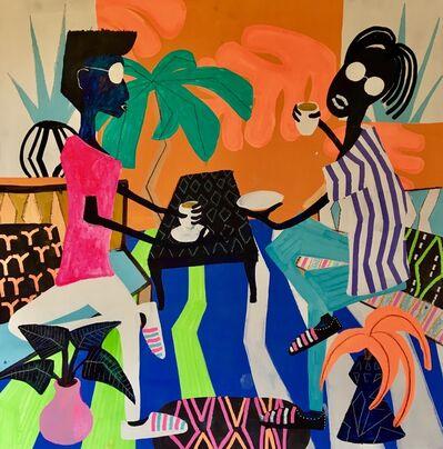 Frantisek Florian, 'African figures 22', 2018