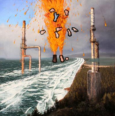 David Nakabayashi, 'PELE MAKES LANDFALL', 2014