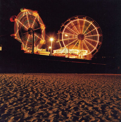Jeff Brouws, 'Boardwalk and Sand, Santa Cruz, CA', 1994