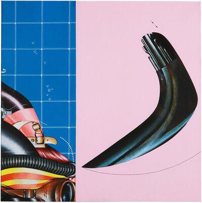 Sergio Sarri, 'Bagnante e boomerang', 1970