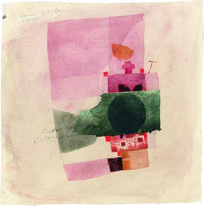 Julius Bissier, 'Lindau 29.1.60', 1960