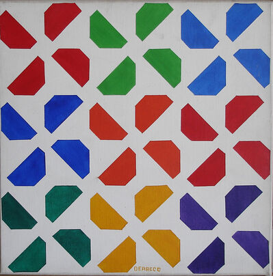Germaine Derbecq, 'Pintura múltiple. Serie no 5', 1970