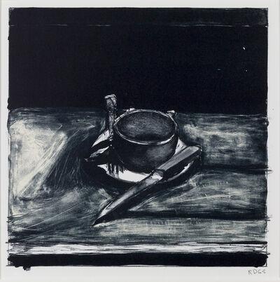 Richard Diebenkorn, 'Cup, Saucer, Fork and Knife', 1965