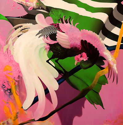 Manu Muñoz, 'Kanazawa's peacock', 2020