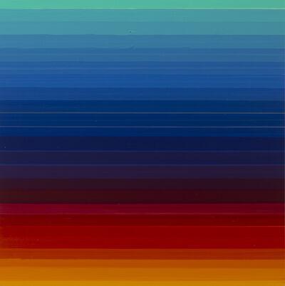 Thierry Feuz, 'Technicolor Quadra Azur', 2017
