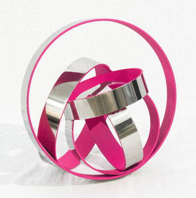 Philippe Pallafray, 'Four Ring Temps Zero Pink', 2019