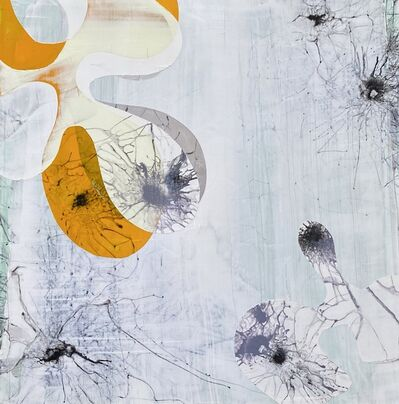 Aster da Fonseca, 'White series with Orange detail', 2020