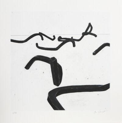 Bernar Venet, '#5 from Combinaison Aleatoire de Lignes Indeterminees', 1996