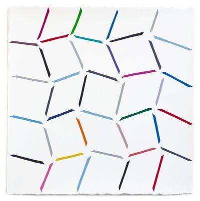 Jessica Snow, 'Study for Angular Rhythm', 2015