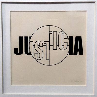 Margarita Paksa, 'Justicia (from the series Sitaciones fuera de foco)', 1967