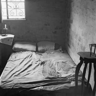 David Goldblatt, 'The bedroom of Mashayela Maseko, traditional healer, 1131 Senoane, Soweto', 1972