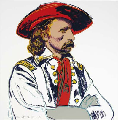 Andy Warhol, ' General Custer (FS II.379)', 1986