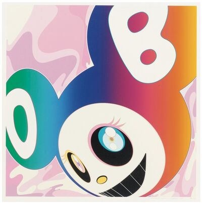Takashi Murakami, 'And Then Rainbow', 2005