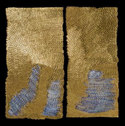Olga de Amaral, 'Fractura I y II', 2014