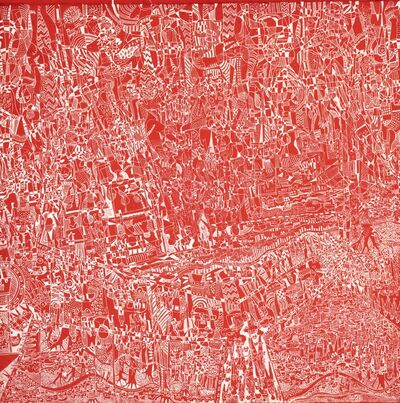Houston Maludi, 'Red City', 2020