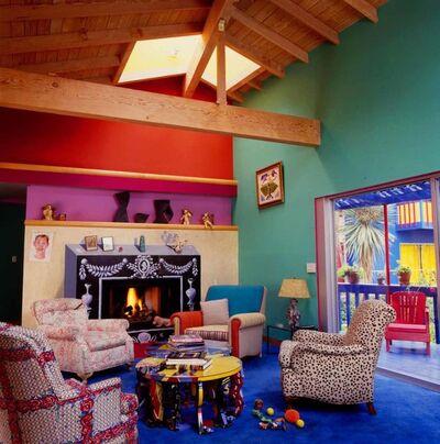Jim McHugh, 'David Hockney Living Room in Los Angeles', 1990